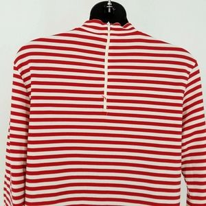 Vintage Tops - Vintage Sax for Hooper Top Size 10 Red Stripes Nyl